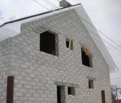 Качественный и недорогой дом из пеноблоков, кирпича, бруса в городе Пенза, можно заказать в нашей компании профессиональных строителей СтройСервисНК