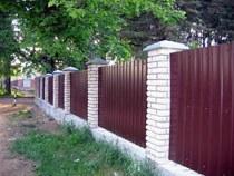 Строительство заборов, ограждений в Пензе и пригороде, строительство заборов, ограждений под ключ г.Пенза